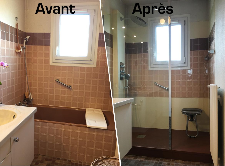 Remplacement De Baignoire Par Une Douche Agencement Salle De Bain Haut De Gamme A Lyon Fabricant De Spa Rhone Pertosa Design